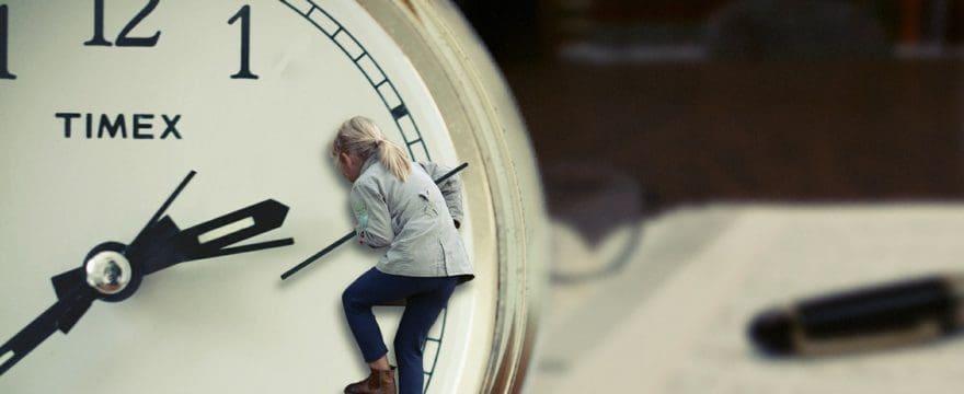 Quando è stata l'ultima volta che ti sei sentita padrona del tuo tempo?