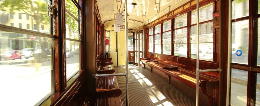 interno di tram
